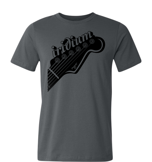 Iridium Guitar Head T-Shirt