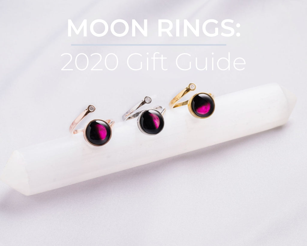 Moon Rings: 2020 Gift Guide