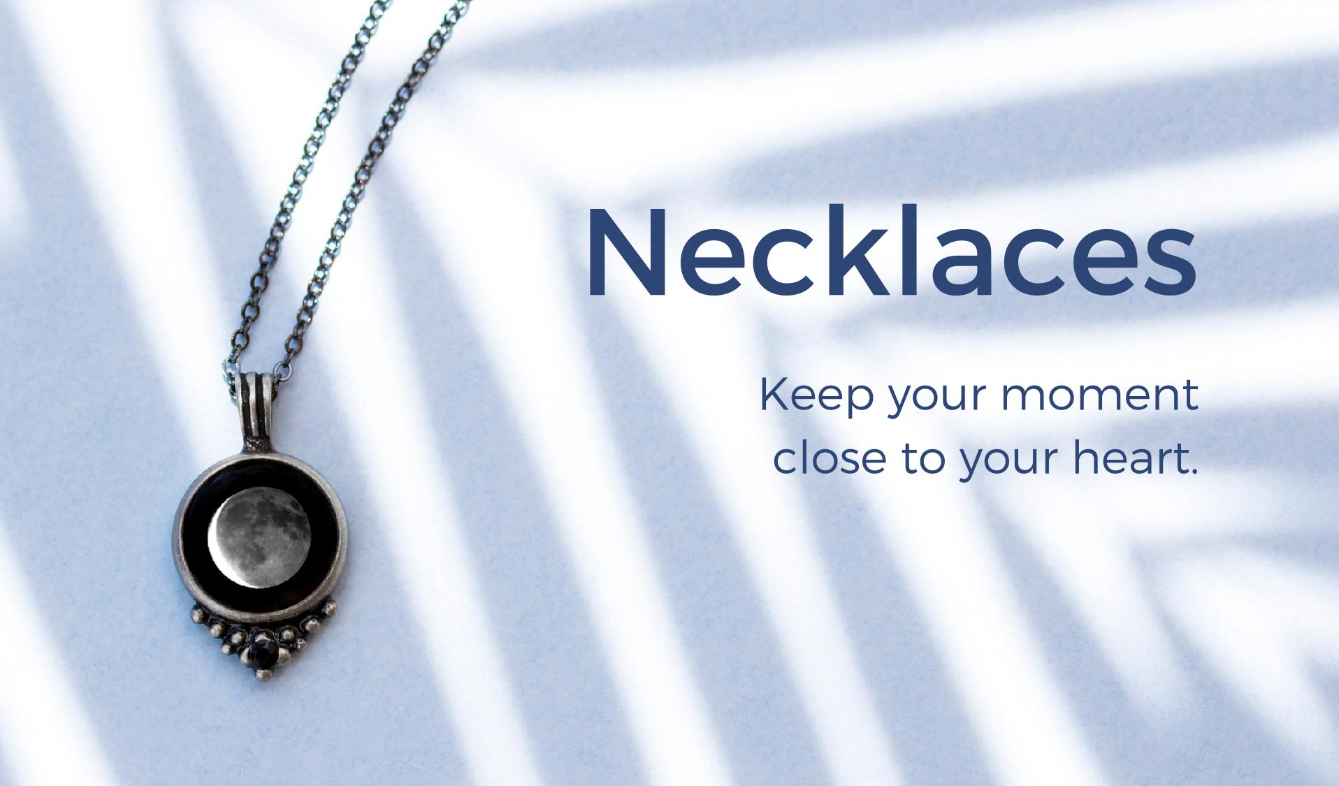 Moon Phase Necklaces For Women | Moonglow