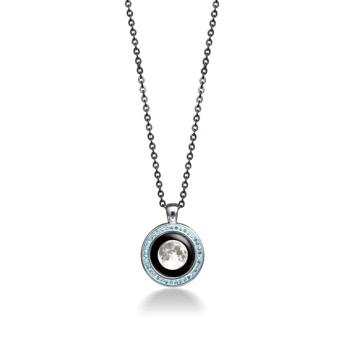 Moonlight Apollo Birthstone  Necklace