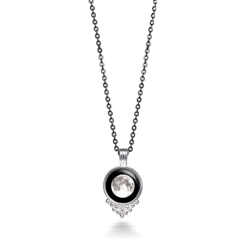 Moonlight Classic Necklace in Silver