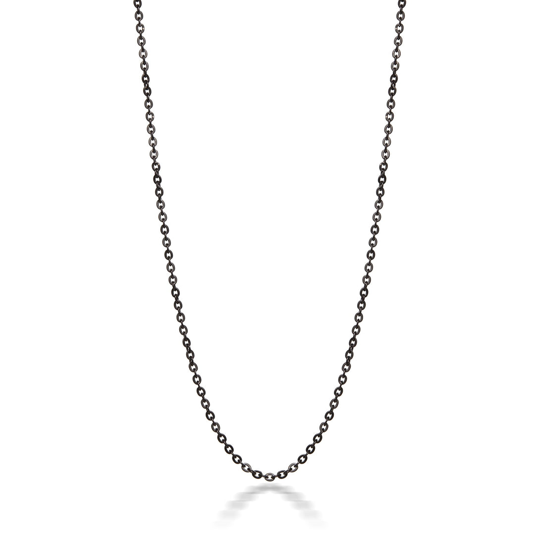 Moonlight Black Stainless Steel Link Chain