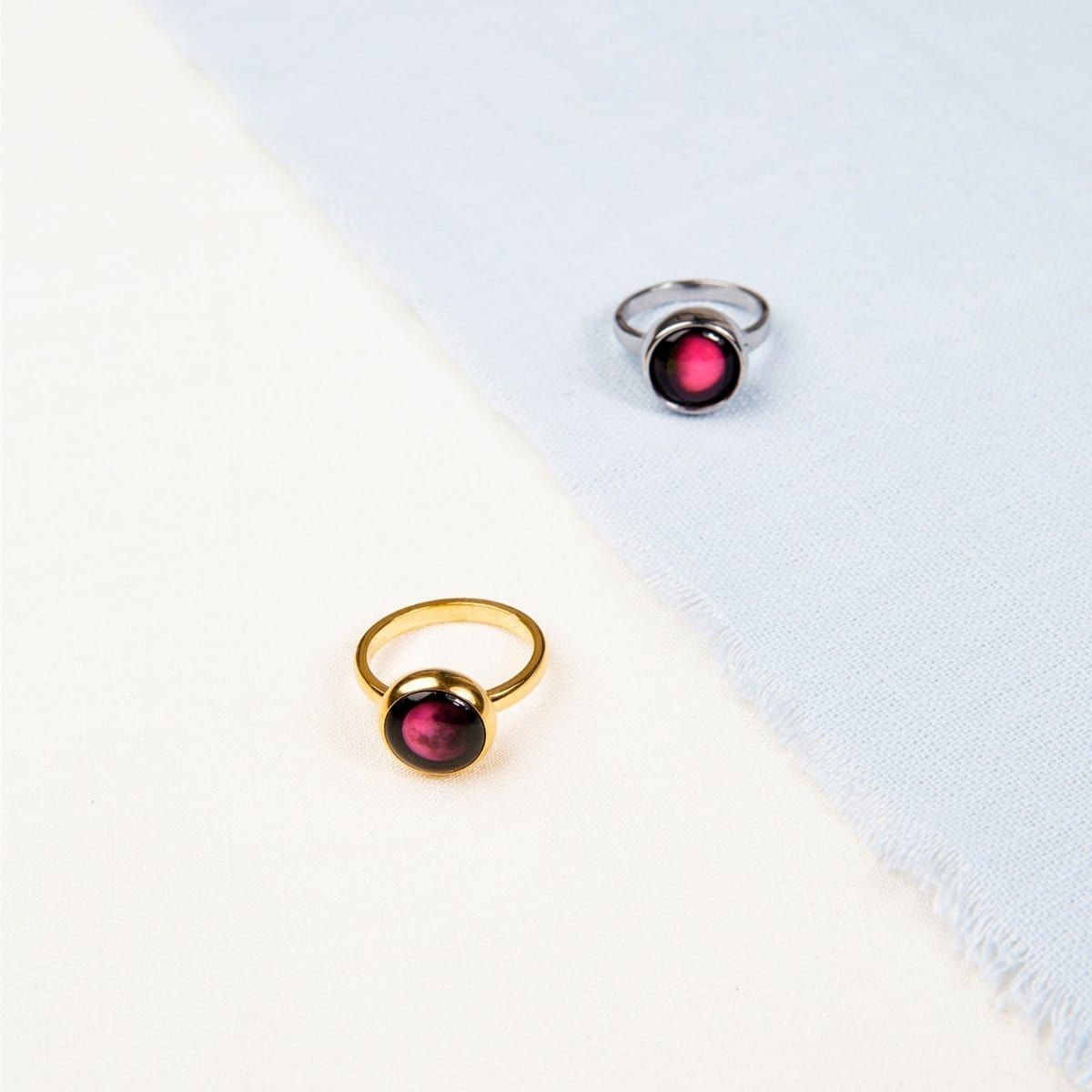Pink Moon Mini Simplicity Ring
