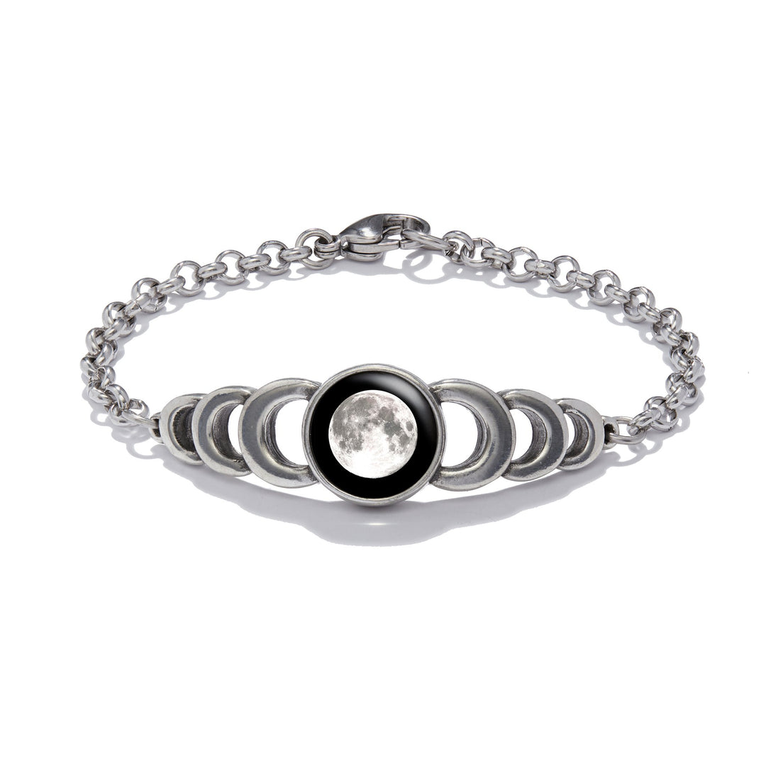Ripple Effect Bracelet in Pewter