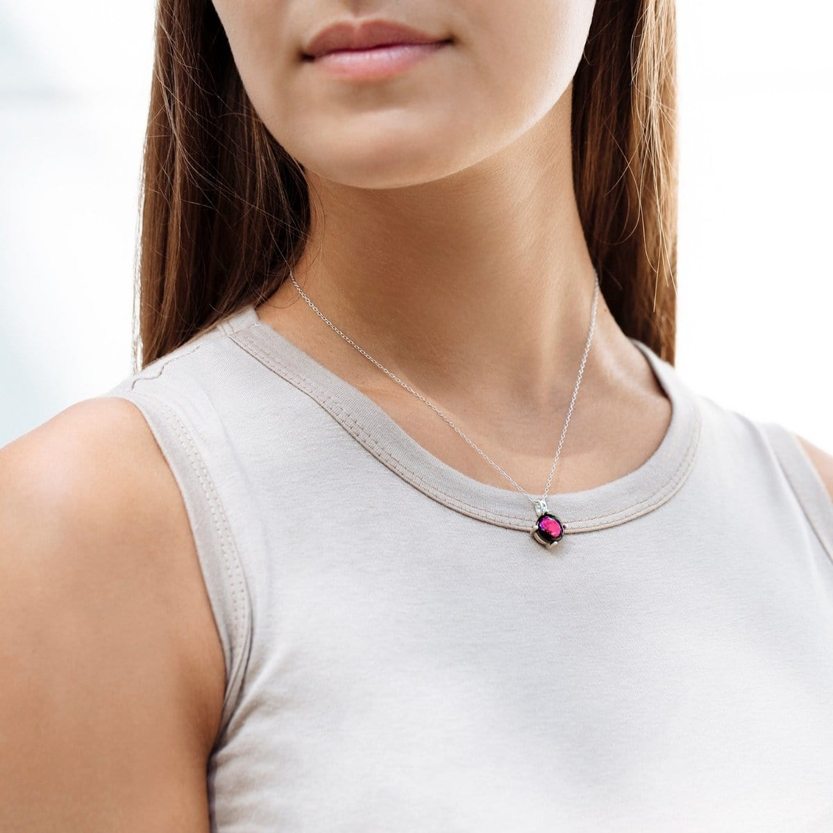 Pink Moon Cosmic Dream Necklace