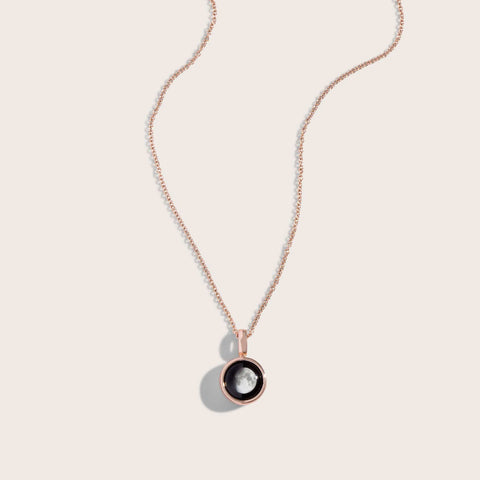 Sky Light Rose Gold Necklace