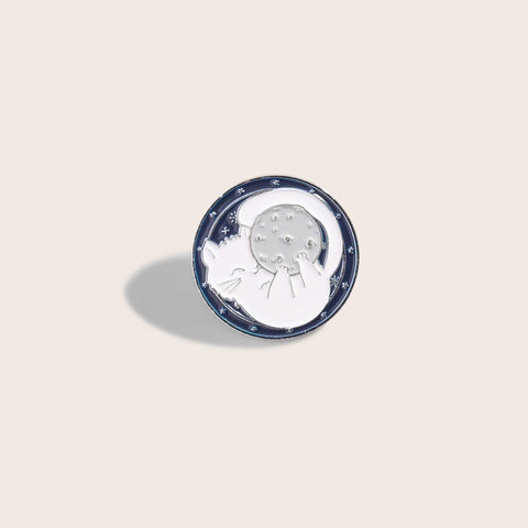 Moon Kitty Pin