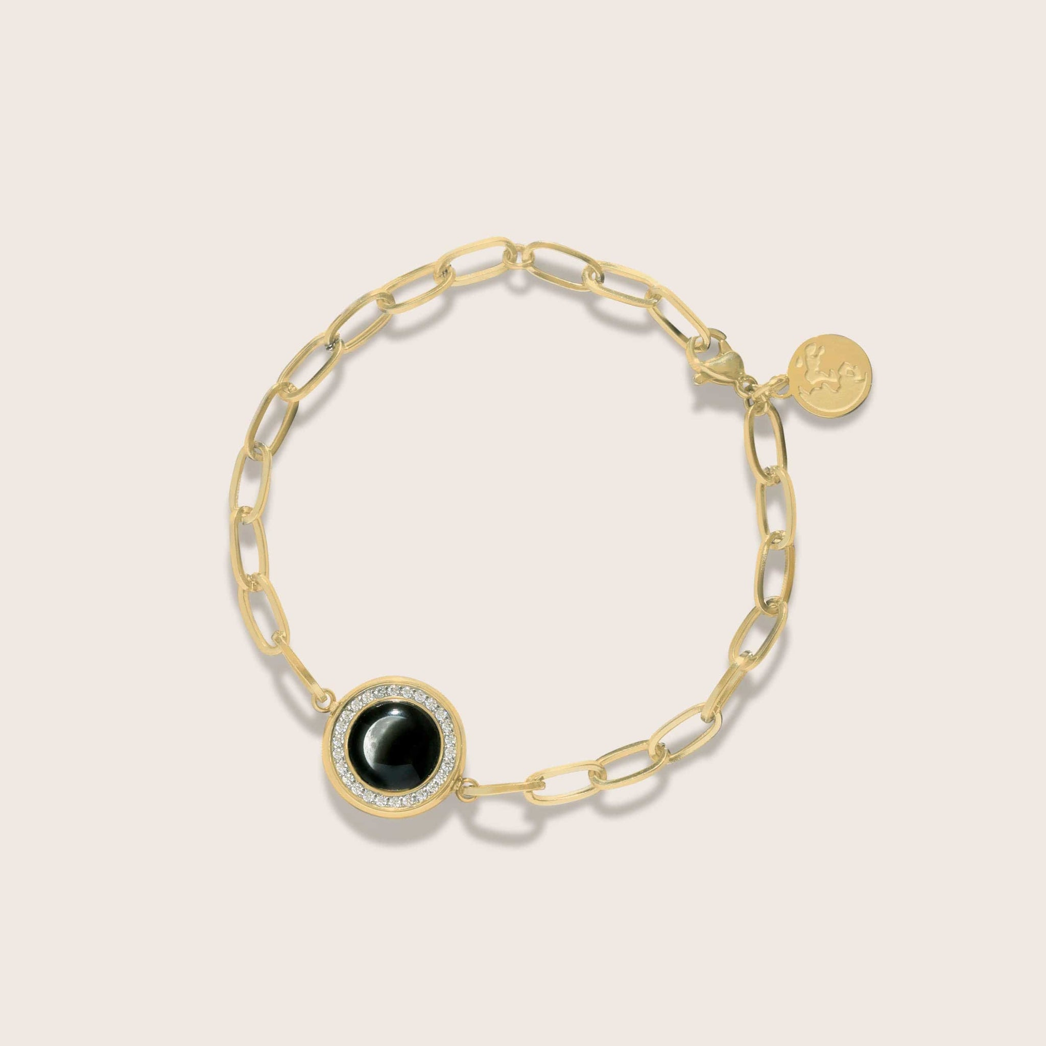 The Asterism Link Bracelet in Gold