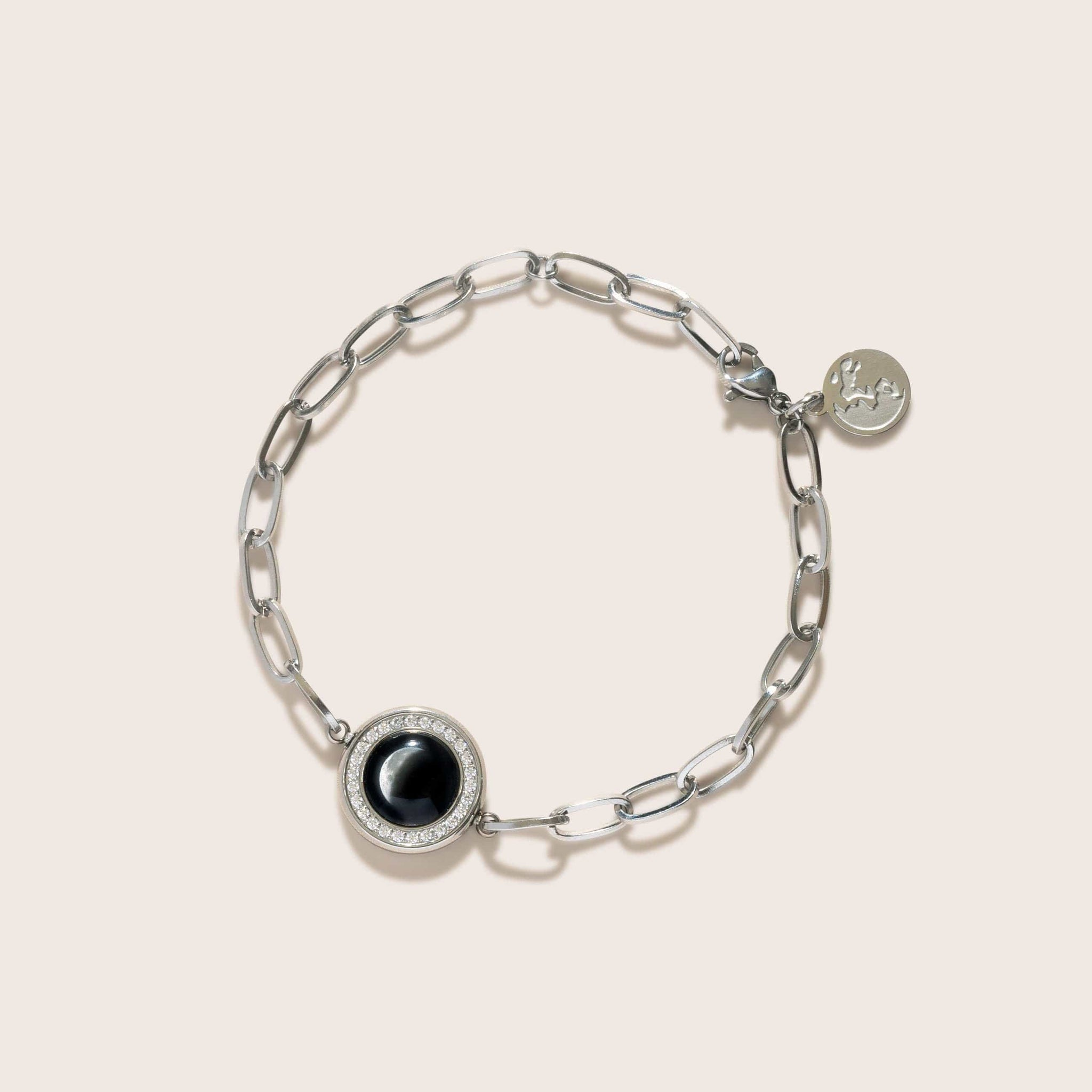 The Asterism Link Bracelet in Stainless Steel