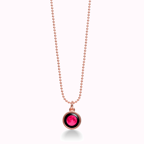 Pink Moon Mini Rose Gold Simplicity & Bead Chain