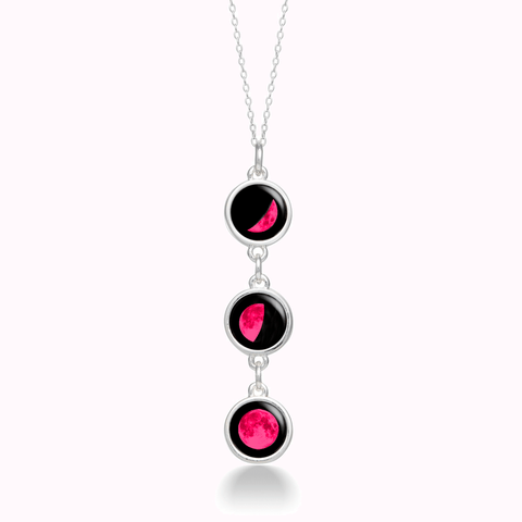 Pink Moon Mini Usambara Necklace