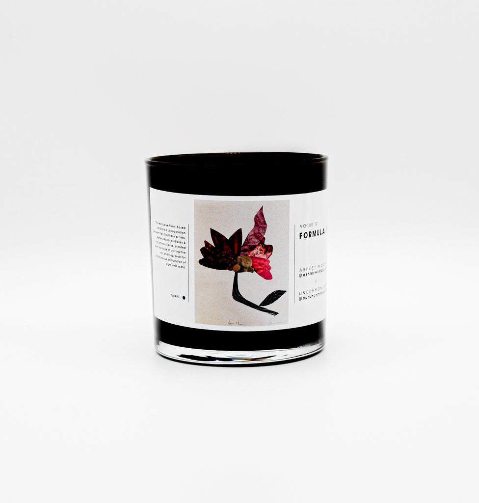 Formula No. 012-Vogue 12 AWB x Uncommon Sense Candle - Ashley Woodson Bailey