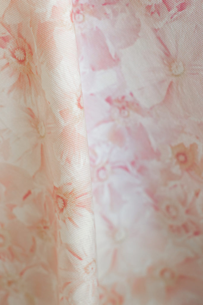 Pink Poppies Light Floral Fabric - Ashley Woodson Bailey