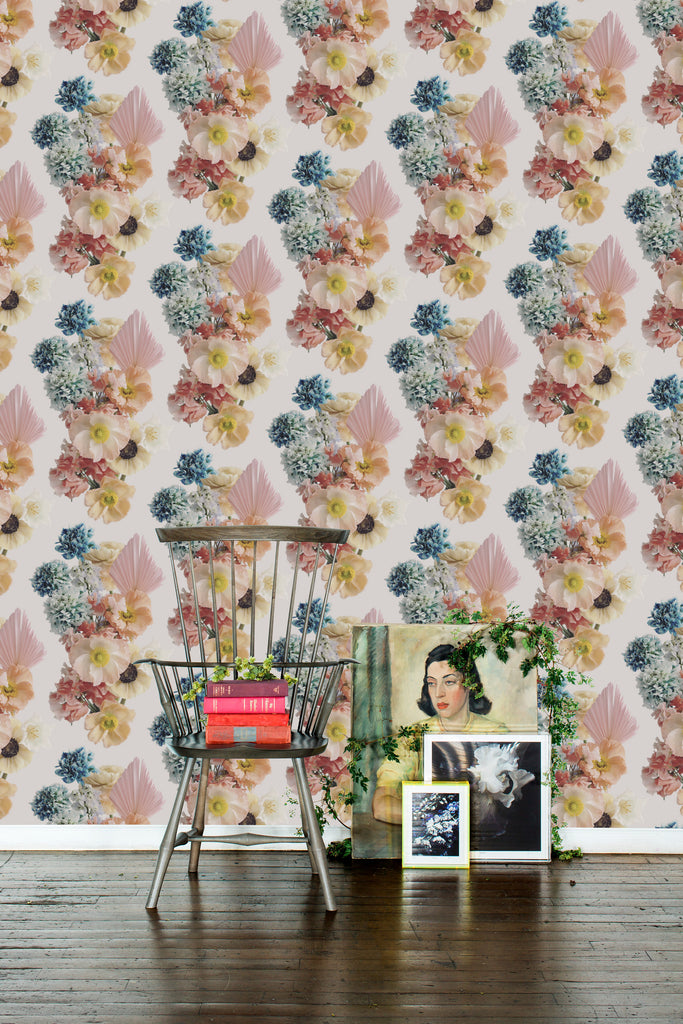 Florida Vibrant Grasscloth Wallpaper - Ashley Woodson Bailey