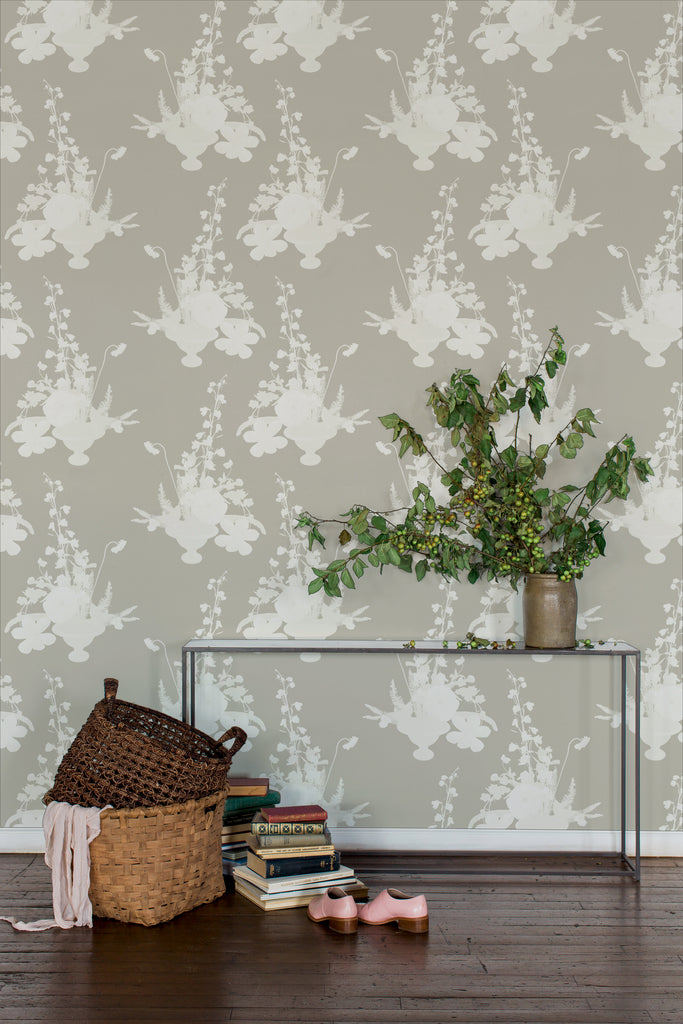 Freedom Neutral Tan Wallpaper - Ashley Woodson Bailey