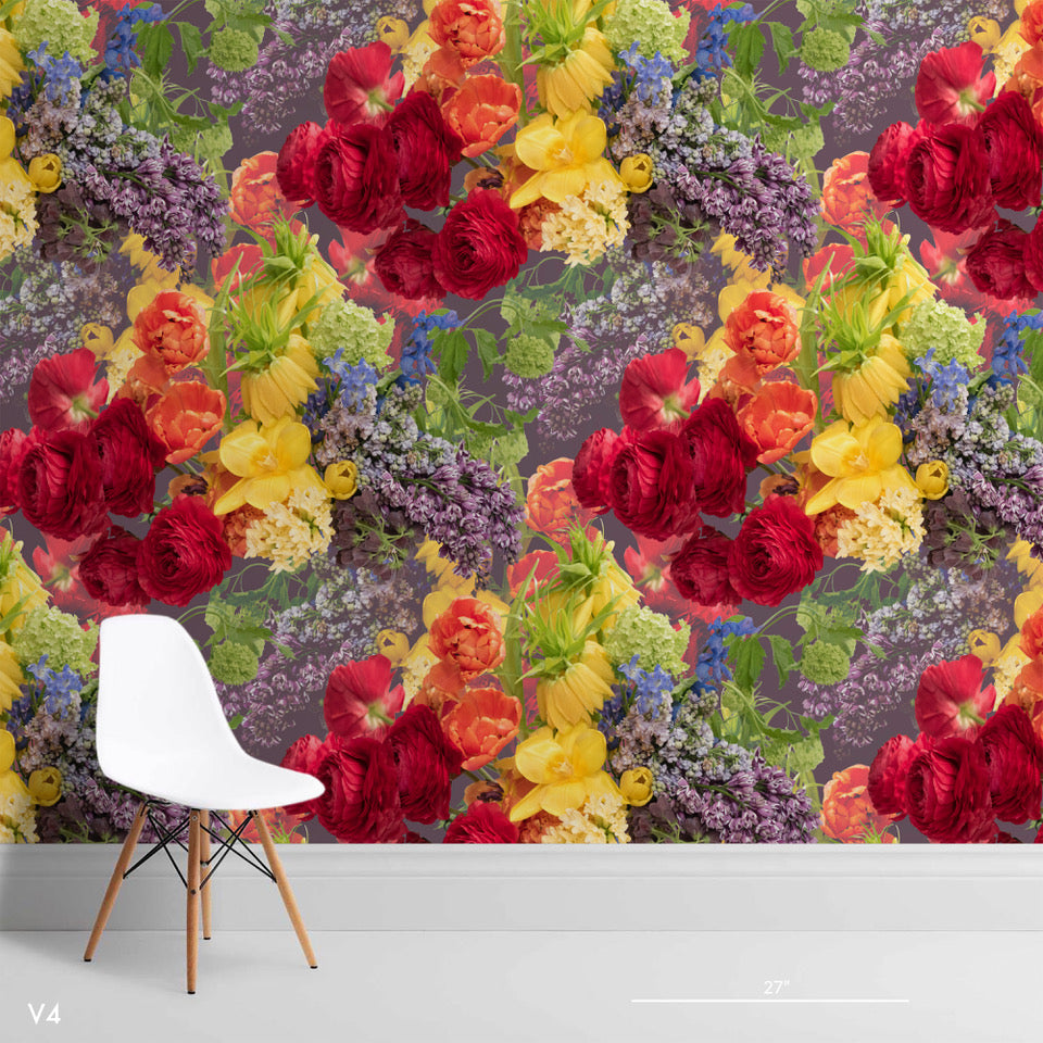 LoveLife Vivid Floral Wallpaper - Ashley Woodson Bailey