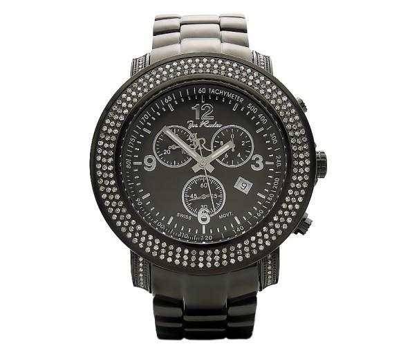 Black Junior Joe Rodeo Watch 2.50ct Diamonds