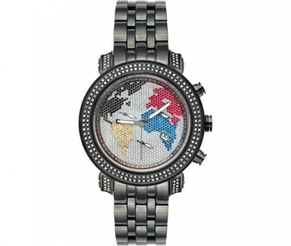 Black World is Mine 1.75ct Diamond Joe Rodeo Watch