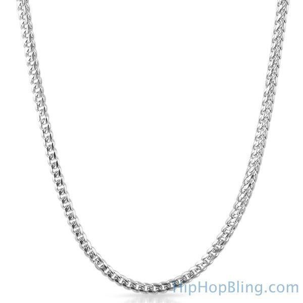 Miami Franco 316L Stainless Steel Chain