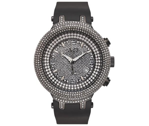 6.50ct Diamond Dome Bezel Black Joe Rodeo Watch Master