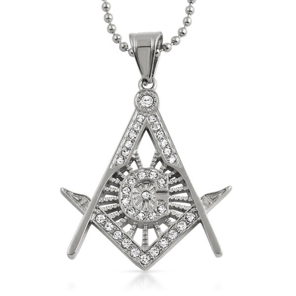 Masonic Pendant Stainless Steel