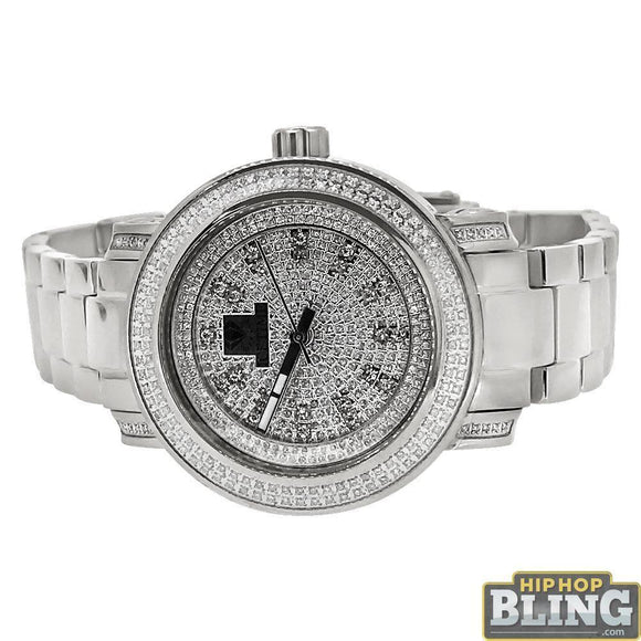 .75 Carat Diamond Queen IceTime Womens Watch Steel