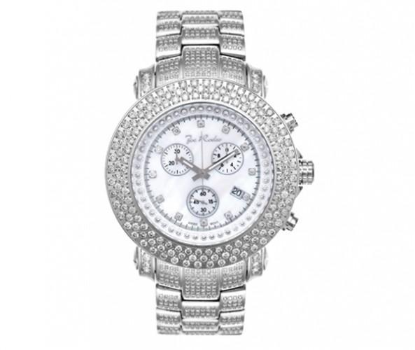 17.50ct Full Diamond Joe Rodeo Watch