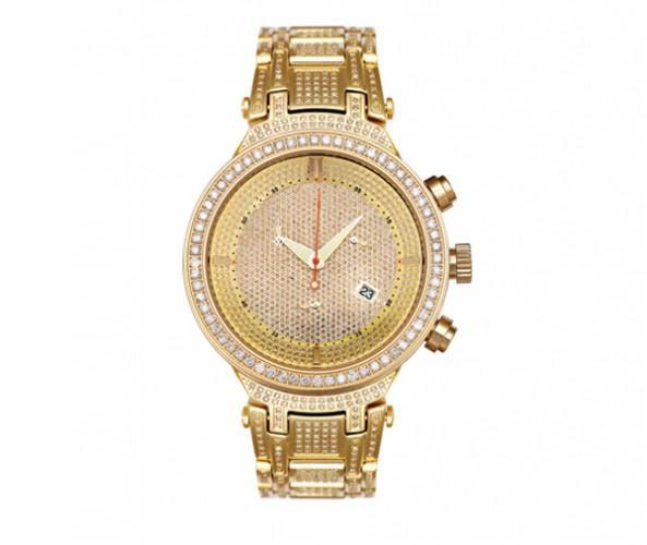 Golden Joe Rodeo Watch Master 5.20ct Diamond Bezel & Band