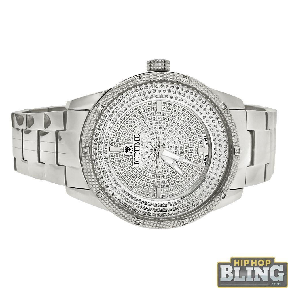 Galaxy Diamond IceTime Watch .10 Carat Diamonds