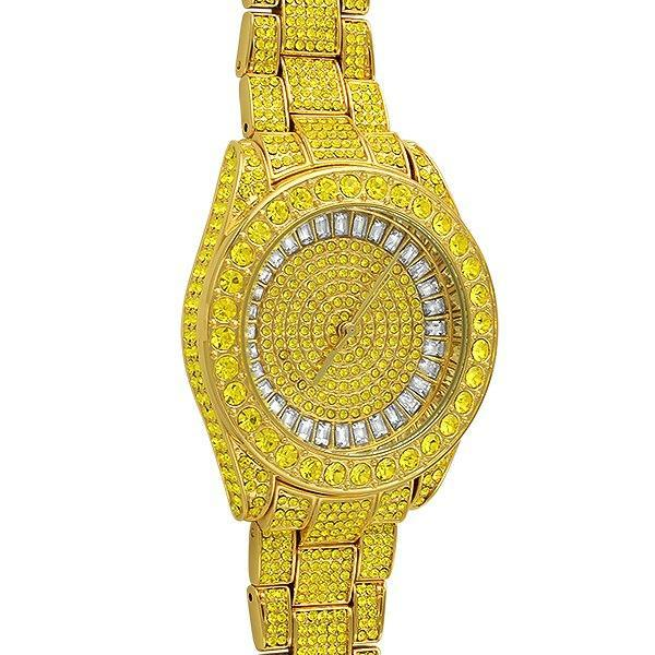 Bling Bling Canary Custom Watch 41MM