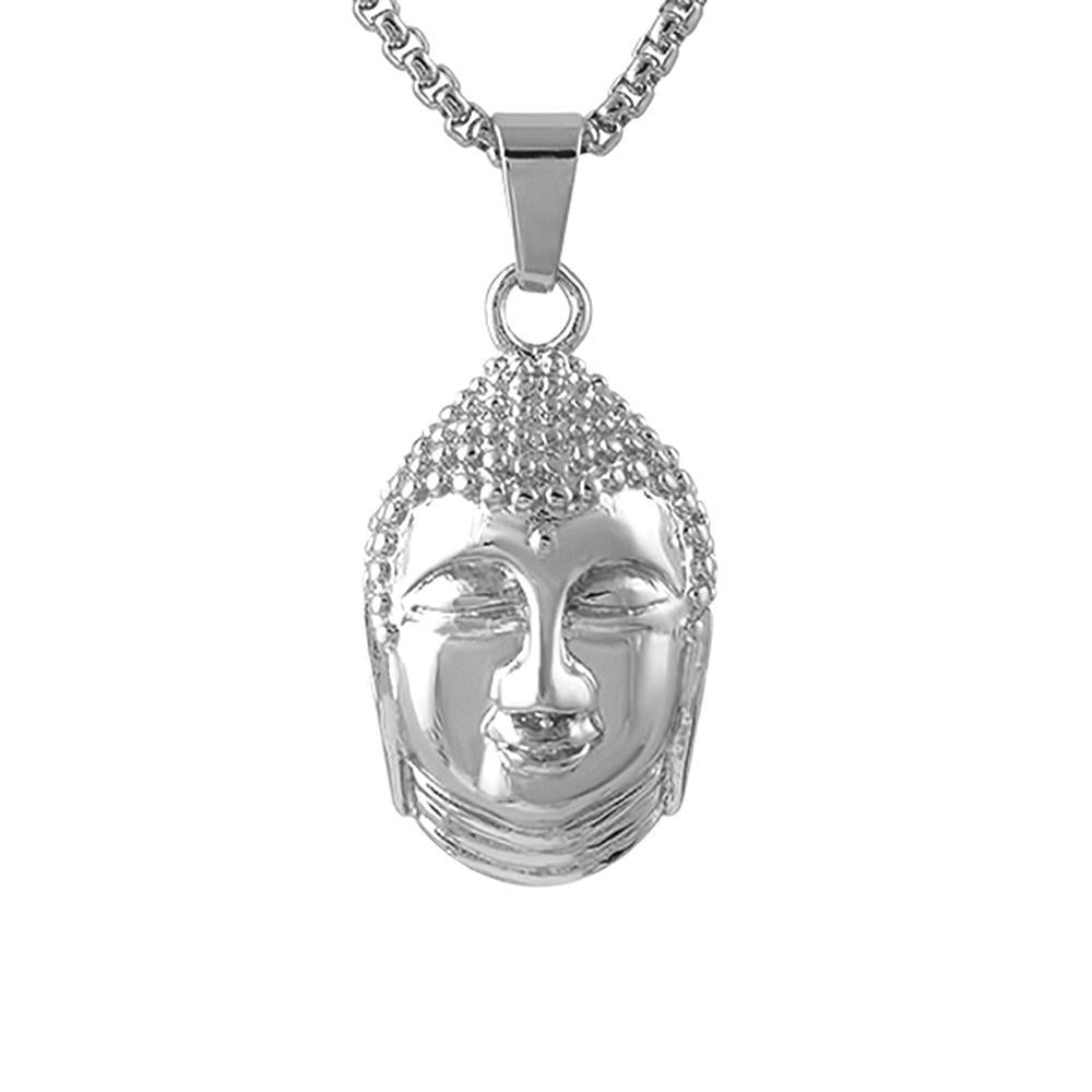 Thai Buddha Pendant Stainless Steel