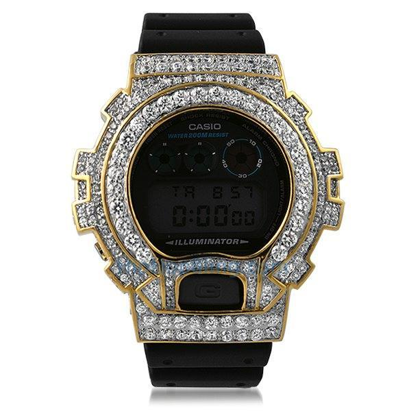 Gold Big Boy Custom Made G Shock DW6900