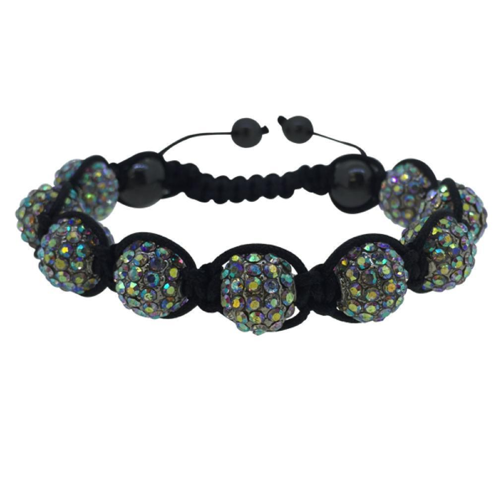 Rainbow Disco Ball Bracelet 10MM