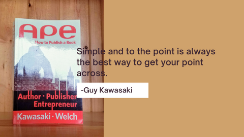 APE How to Publish a Book by Guy Kawasaki and Shawn Welch