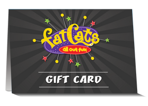 $50 FatCats Gift Card