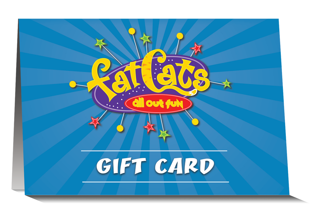 $25 FatCats Gift Card
