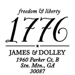 Freedom & Liberty Stamp