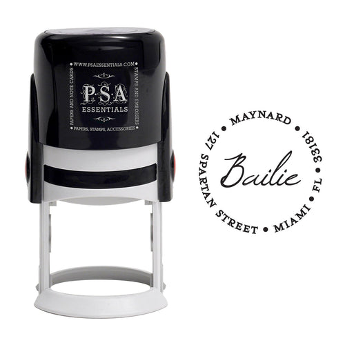 Bailie Return Address Stamp - PSA Essentials
