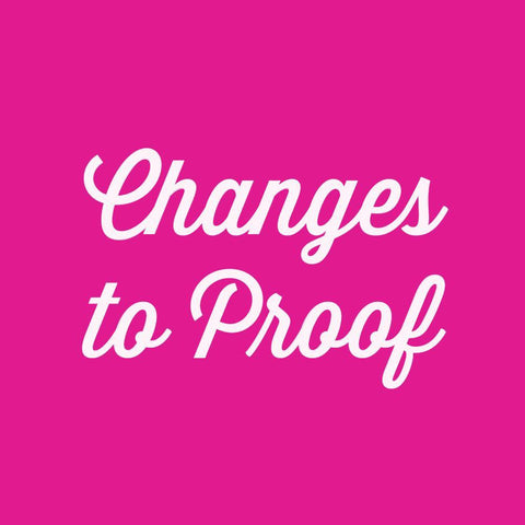 Changes to Proof