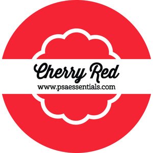 Cherry Red  Ink Pad Cartridge Round