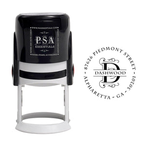 Dashwood Letter Return Address Self-Inking Stamp