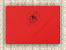 Happy New Year Return Address Stamp