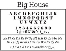 Big House Return Address Embosser - PSA Essentials