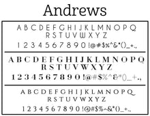 Andrews Return Address Embosser