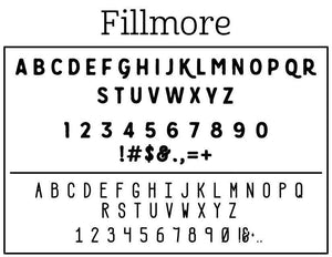 Fillmore Stamp