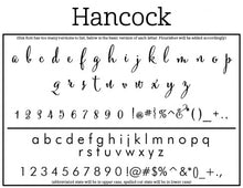 Hancock Return Address Self Inking Stamp