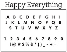 Natalie Chang Happy Everything Stamp