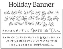 Holiday Banner Stamp