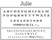 Julie Return Address Embosser