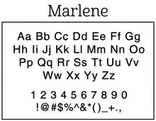 Marlene Return Address Stamp